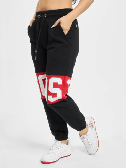 GCDS Spodnie do joggingu Logo Band czarny