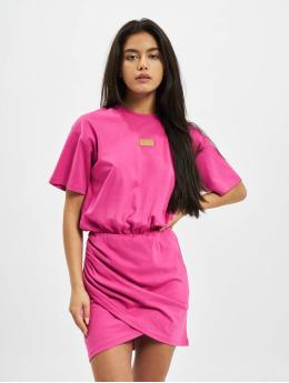 GCDS Sukienki WRAPPED MONSTER pink