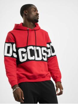 GCDS Sweat capuche Band Logo rouge