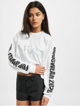 GCDS T-Shirt manches longues Hello Kitty blanc
