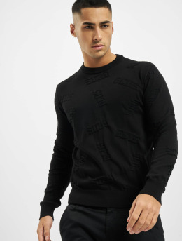GCDS trui Layer  zwart