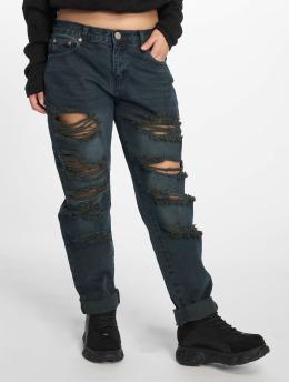 Glamorous Boyfriend jeans Destroyed blauw