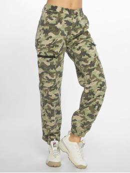 Glamorous Látkové kalhoty Ladies kamufláž