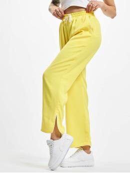 Glamorous Stoffbukser Ladies gul