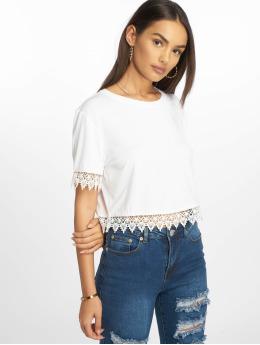 Glamorous Frauen T-Shirt Leia in weiß