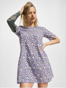 Glamorous Vestido Flower  púrpura
