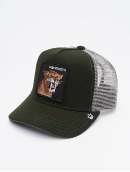 Goorin Bros. Trucker Caps All Bite zielony