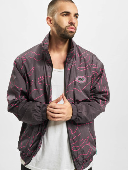 Grimey Wear Демисезонная куртка Mysterious Vibes черный