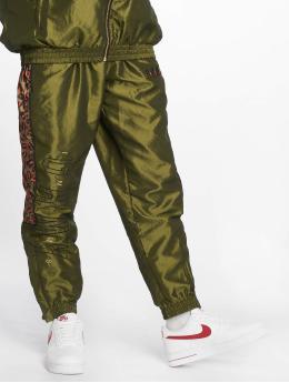 Grimey Wear Спортивные брюки Midnight зеленый