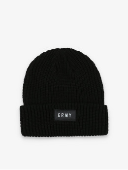 Grimey Wear Beanie Flying Saucer zwart