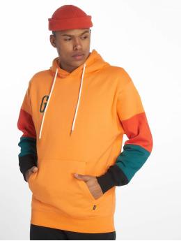 Grimey Wear Felpa con cappuccio Midnight arancio