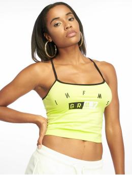 Grimey Wear Hihattomat paidat F.A.L.A. vihreä