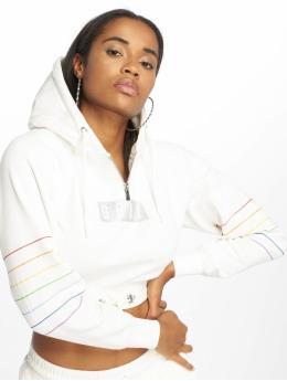 Grimey Wear Hoodies Fluid Planet Crop hvid