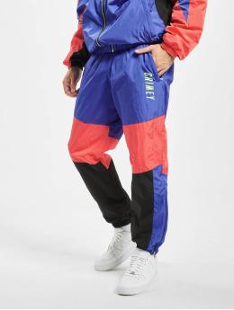 Grimey Wear Jogging kalhoty Planete Noire modrý