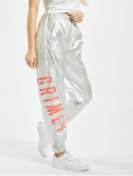 Grimey Wear Jogging kalhoty Planete Noire  stříbro