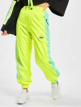 Grimey Wear Joggingbyxor Mysterious Vibes Fluor  gul