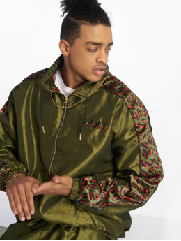 Grimey Wear Lightweight Jacket Midnight green