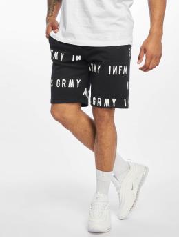 Grimey Wear Pantalón cortos Sober Heritage negro