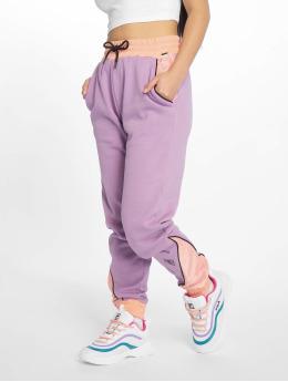 Grimey Wear Pantalone ginnico Steamy Blacktop viola