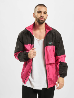 Grimey Wear Prechodné vetrovky Mysterious Vibes pink