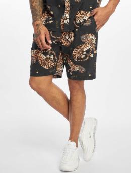 Grimey Wear shorts Trans-Siberian Light zwart