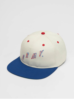 Grimey Wear Snapback Cap F.A.L.A. bianco