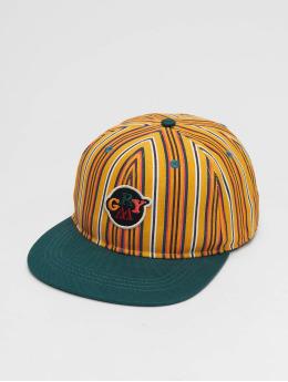 Grimey Wear Snapback Caps Wild Child Printed vihreä