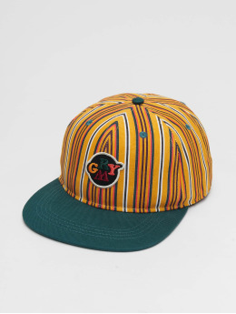 Grimey Wear Snapback Caps Wild Child Printed zielony