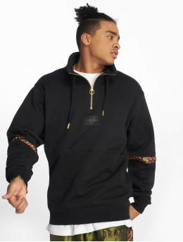 Grimey Wear Sweat & Pull Midnight Hi Neck noir