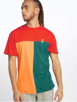 Grimey Wear T-paidat Midnight Tricolor punainen