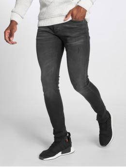 GRJ Denim dżinsy przylegające Basic czarny