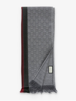 Gucci Шарф / платок Logo серый