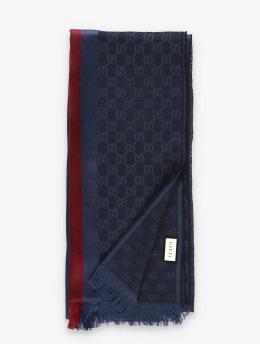 Gucci Schal Logo  blau