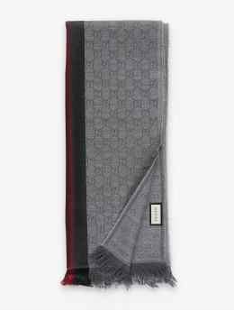 Gucci Schal Logo grau