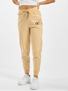 GymCodes Joggingbyxor Lady Zip  beige