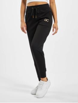 GymCodes Spodnie do joggingu Lady Zip czarny