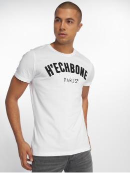 Hechbone Camiseta Patch blanco