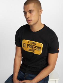 Hechbone Camiseta El Profesor negro