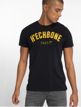 Hechbone Camiseta Patch negro
