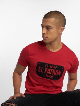 Hechbone Camiseta El Patron rojo