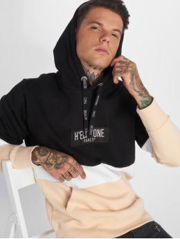 Hechbone Hoody Colorblock schwarz