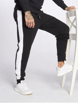 Hechbone Jogging kalhoty Stripe čern