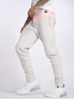 Hechbone joggingbroek 2Colour grijs