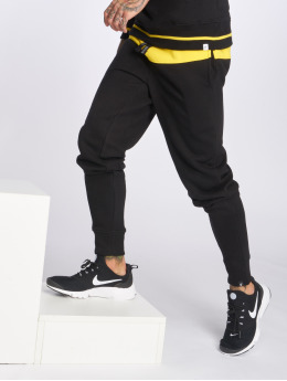 Hechbone joggingbroek 2Colour  zwart