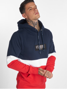 Hechbone Sweat capuche Colorblock bleu