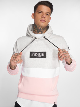 Hechbone Sweat capuche Colorblock gris