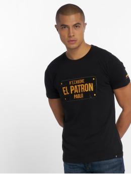 Hechbone T-Shirty El Patron czarny