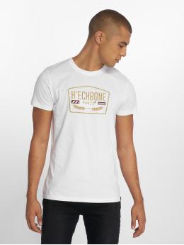 Hechbone T-skjorter Stitch hvit