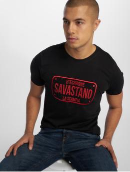 Hechbone T-skjorter Savastano svart