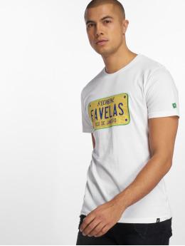 Hechbone Tričká Favelas biela